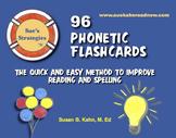 96 Phonetic Flashcards