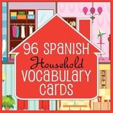 MILESTONE SALE! 75% OFF! 96 Spanish / English House Vocabu