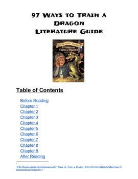 97 Ways to Train a Dragon Literature Guide