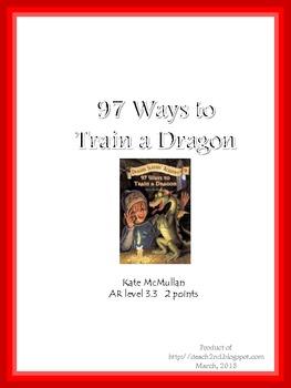97 Ways to Train a Dragon Literature Unit