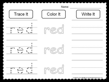 98 Learn Colors and Shapes worksheets and activities for daycare children.