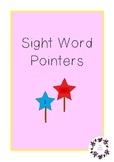 98 Sight Word Star Pointers