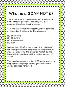 soap notes for counseling