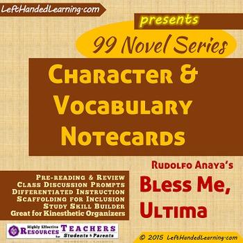 {99 Novel} Bless Me Ultima by Rudolfo Anaya Character & Vo