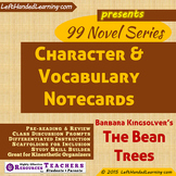 {99 Novel} The Bean Trees by Barbara Kingsolver Character & Vocabulary notecards