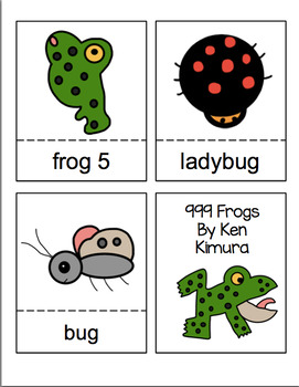 999 Frogs  Book Units