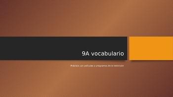 9A, Realidades I, practica con vocabulario