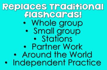 9s Facts - DIGITAL (PowerPoint) Multiplication Flash Cards -9's Family