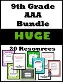 9th Grade AAA Resource Bundle