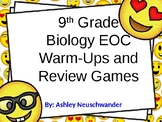 9th Grade Biology STAAR EOC Warm Ups and Review Games