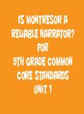 9th Grade Common Core Curriculum Poe Narration
