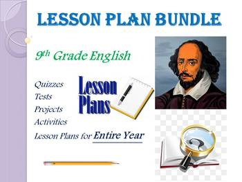 9th Grade English Annual Lesson Plan Bundle (Entire Year - 42 Weeks)