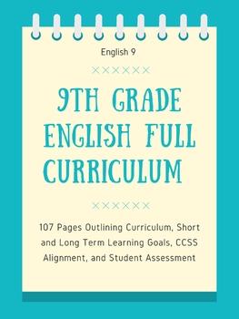 9th Grade English Curriculum