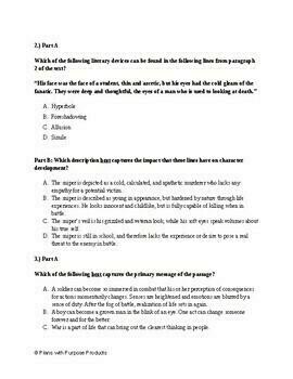 9th Grade English Parcc Practice Sat Prep Test