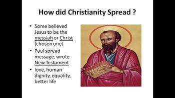 9th Grade Global Unit 3 - Religions PowerPoints