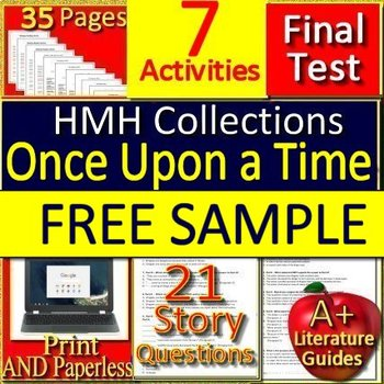 9th Grade HMH Collections 1 - Finding Common Ground Bundle - FREE Sample!