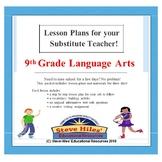 9th Grade Language Arts Sub Plans