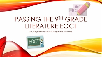 9th Grade Literature EOCT Test Prep Bundle