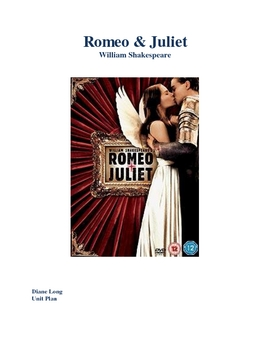 9th Grade Romeo & Juliet Unit Plan with Lessons-Who's to Blame?