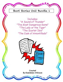 9th Grade Short Stories Unit Bundle 1