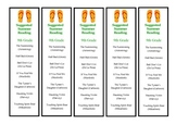 9th Grade Suggested Summer Reading Bookmark