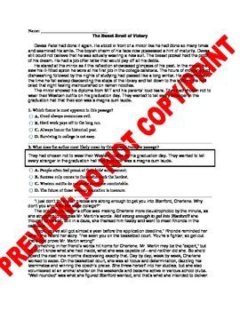 9th/10th Grade CCSS Theme Assessment