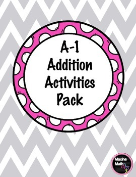 A-1 Addition Activities Pack