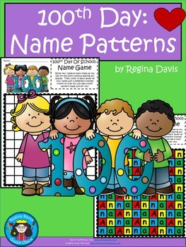 A+ 100th Day Name Patterns