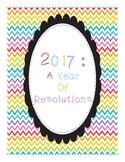 A 2017 Resolution Flip Book