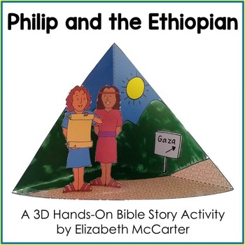 Philip and the Ethiopian Bible Craft