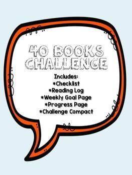 40 Books Challenge Resource