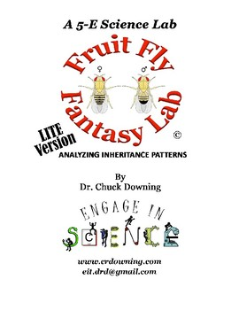A 5-E Science Lab – Fruit Fly Fantasy Lab - LITE Version