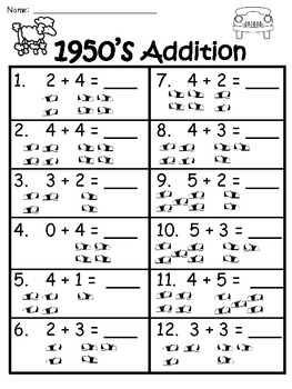 A+ 50th Day of School: Addition And Subtraction