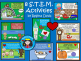 STEM: 8 Bundled Activities Set 1...Science, Technology, En