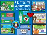 STEM: 8 Bundled Activities Set 1...Science, Technology, Engineering & Math