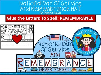 A+ 9-11 Hat: National Day of Service And Remembrance