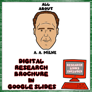 A. A. Milne Digital Research Brochure in Google Slides™