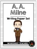A. A. Milne Writing Paper Set