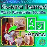 A = AROHA {Kiwiana Themed 'Make & Take' Alphabet Set}