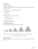 A/AS 9709 - Sequences