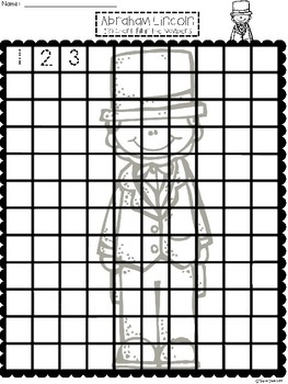 A+ Abraham Lincoln: Numbers 100 and 120 Chart