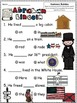 A+ Abraham Lincoln: Fill In the Blank.Multiple Choice Sight Word Sentences