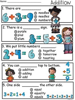 A+ Addition Comprehension:Differentiated Instruction For Guided Reading