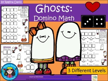 A+ Addition Ghosts: Domino Math