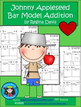 A+ Addition Johnny Appleseed: Bar Model Math
