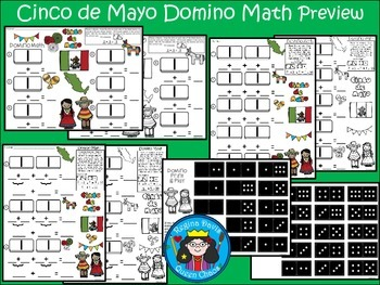 A+ Addition...Cinco de Mayo: Domino Math