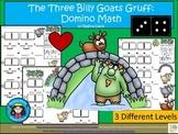 A+ Addition...The Three Billy Goats Gruff: Domino Math