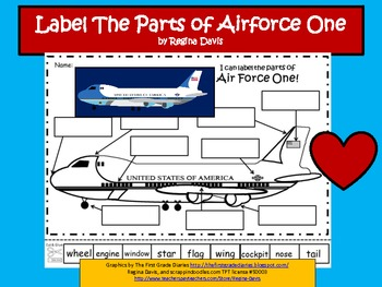 A+ Air Force One  Labels