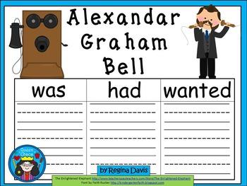 A+ Alexander Graham Bell.. Three Graphic Organizers