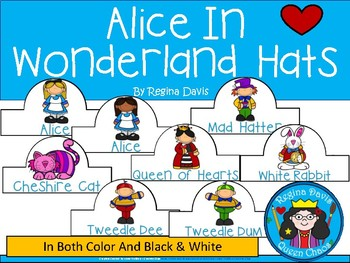 A+ Alice In Wonderland Character Hats